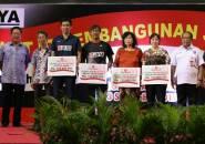 PB Jaya Raya Berikan Bonus Kepada Peraih Medali Kejuaraan Dunia