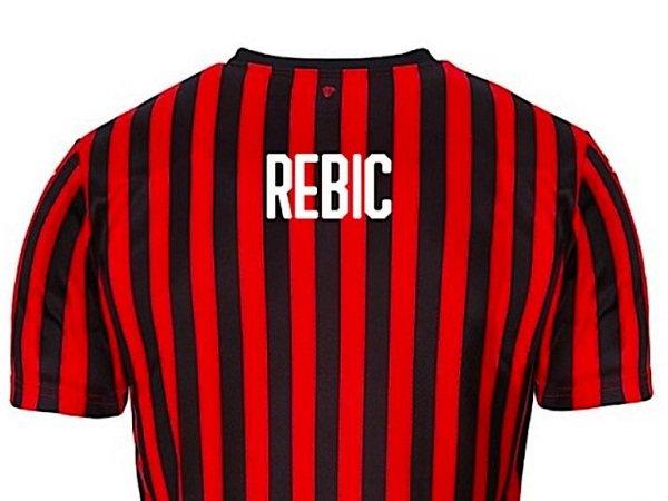Rampungkan Transfer, Nomor Punggung Rebic di Milan Terkuak