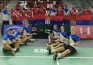 Serbia Lolos ke Final Kejuaraan Beregu Campuran U17 Eropa 2019