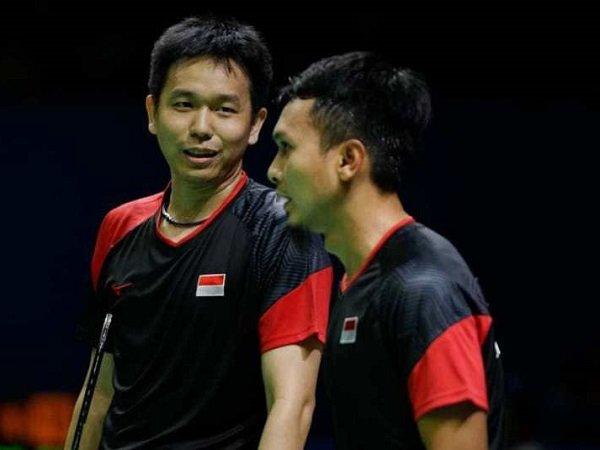 Meski Sudah Juara Dunia, Hendra Setiawan Tetap Realistis Tatap China Open 2019