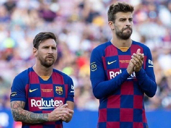 Gerard Pique Tidak Cemas dengan Klausul Khusus dalam Kontrak Lionel Messi