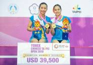 Taiwan Open 2019: Thailand Raih Gelar Ganda Putri