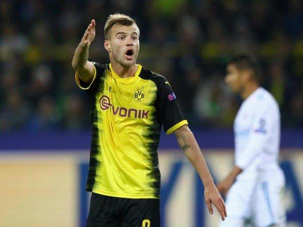 Andriy Yarmolenko Ungkap Masalah Internal Borussia Dortmund