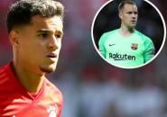 Ter Stegen Berharap Coutinho Bisa Sukses di Bayern Munich