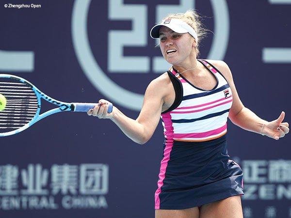 Sofia Kenin Lalui Rintangan Pertama Di Zhengzhou