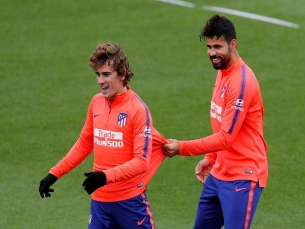 Diego Costa Dukung Keputusan Griezmann Hengkang dari Atletico Madrid