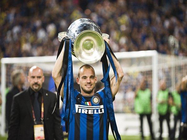 Sampai Detik Ini Sneijder Masih Tak Percaya Bisa Juarai UCL Bersama Inter