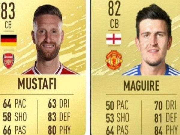FIFA 20 Beri Rating Mustafi Lebih Tinggi Ketimbang Maguire, Fans United Geger