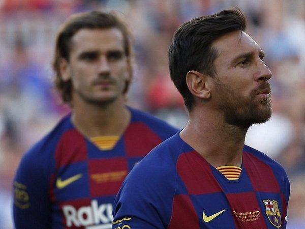 Messi Akui Belum Akrab dengan Griezmann Hingga Kini