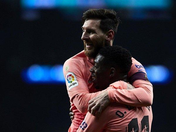 Messi Tuntut Dembele Lebih Profesional bersama Barcelona