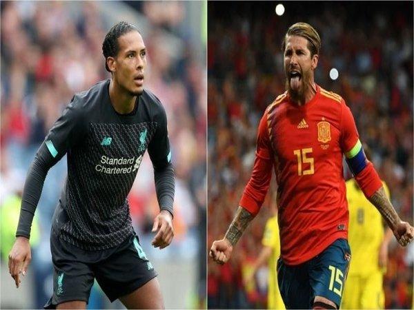 Sergio Ramos Jagokan Van Dijk Raih Ballon d'Or Tahun Ini