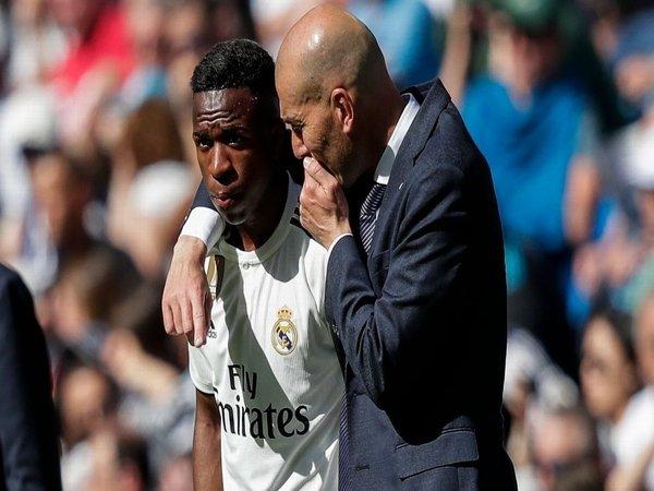 Vinicius: Zidane Dukung Saya Untuk Miliki Karier Panjang di Real Madrid