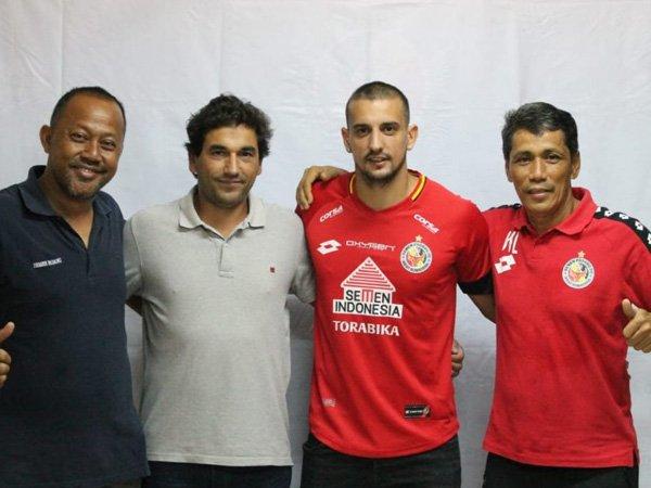 Flavio Beck Junior Lengkapi Kuota Pemain Asing Semen Padang FC