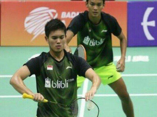 Vietnam Open 2019: Kandaskan Mantan Juara Dunia, Fikri/Bagas Lolos Perempat Final