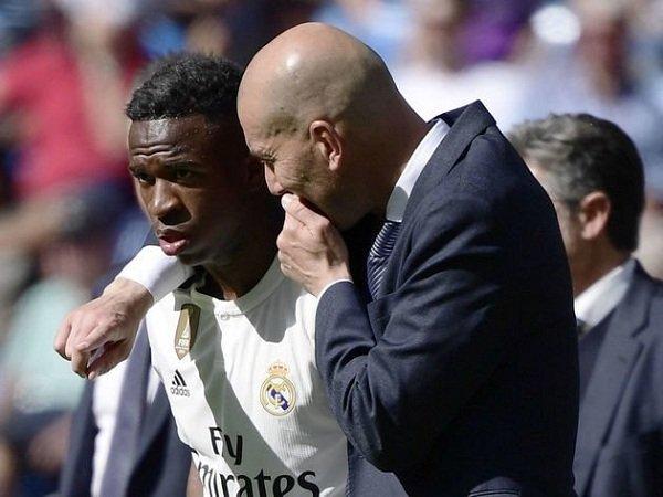 Zidane Percayakan Masa Depan Real Madrid Kepada Vinicius