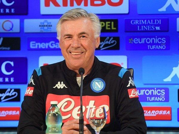 Ancelotti Konfirmasi Milik dan Insigne Siap Dimainkan Kontra Sampdoria