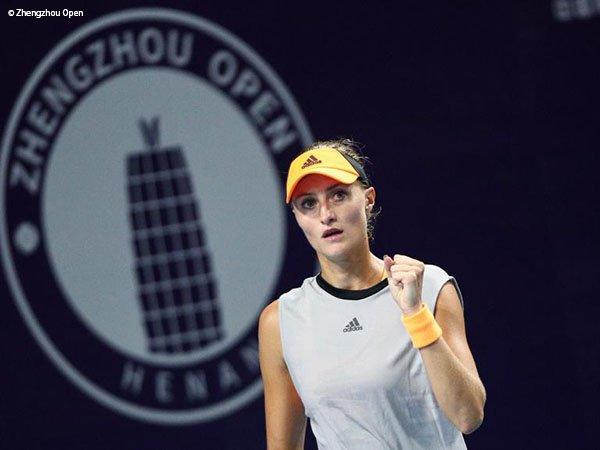Kristina Mladenovic Hentikan laju Elina Svitolina Di Perempatfinal Zhengzhou