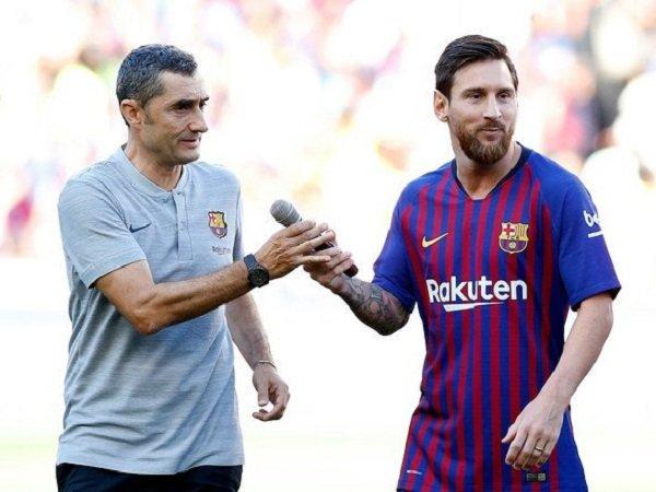 Valverde Tidak Cemaskan Masa Depan Messi di Barcelona