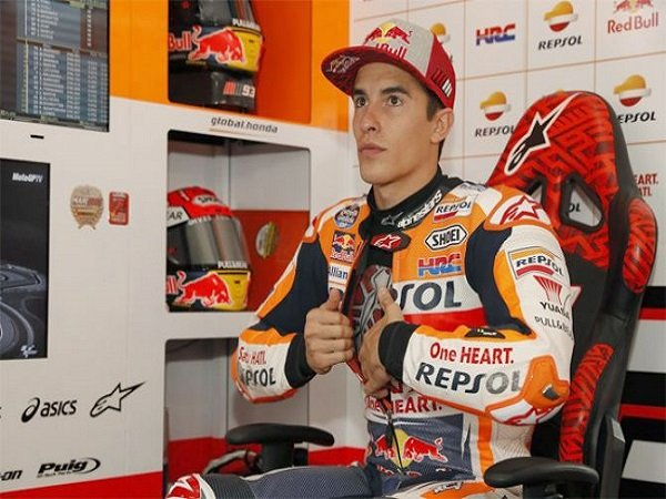 Enggan Pusingkan Insiden Dengan Rossi, Marquez Pilih Fokus Persiapkan Balapan