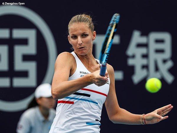 Karolina Pliskova Melaju Ke Final Kelima Musim Ini Di Zhengzhou