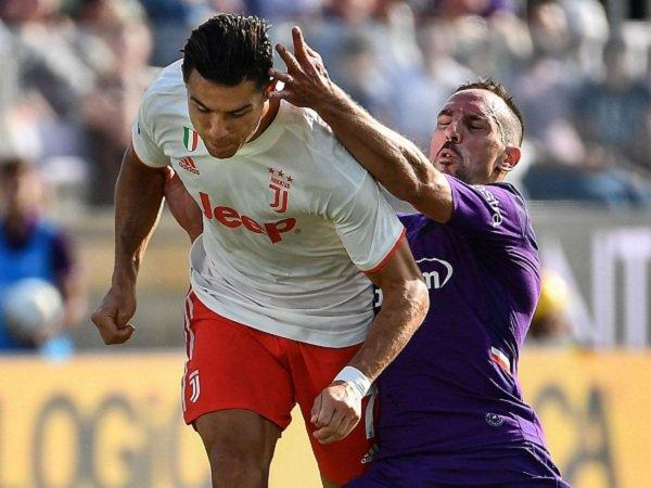Tahan Juventus, Pemilik Fiorentina Klaim Ribery Tampil Lebih Baik Daripada Ronaldo