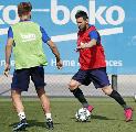Jelang Hadapi Dortmund, Lionel Messi Kembali Berlatih Bersama Barcelona