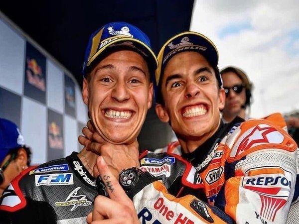 Marquez Sebut Quartararo Sebagai Kandidat Juara Dunia di Tahun 2020