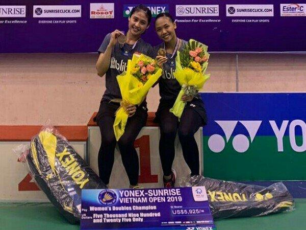 Rizki/Della Juara Vietnam Open 2019