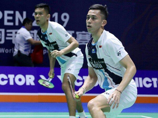 China Open 2019: Fajar/Rian Lewati Babak Pertama