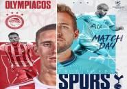 Prediksi Susunan Pemain Olympiacos vs Tottenham, Spurs Tanpa Rose dan Aurier