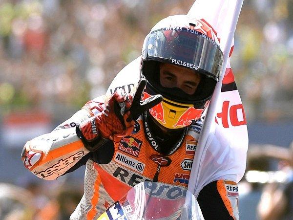 Unggul Makin Jauh Dari Dovizioso, Marquez Tetap Serius Jalani Balapan di GP Aragon