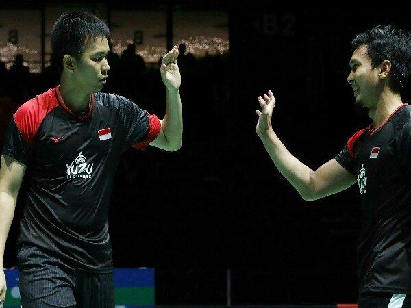 Dua Ganda Putra Indonesia Melaju ke Babak Kedua China Open 2019