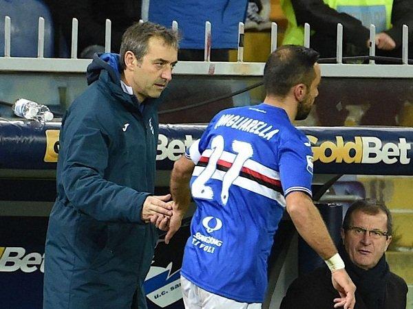 Jelang Derby Milan, Striker Sampdoria Ungkap Perbedaan Giampaolo dengan Conte