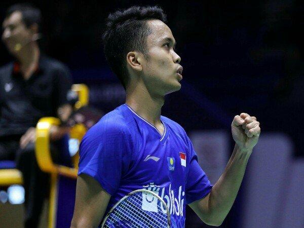 China Open 2019: Ke Final, Anthony Buka Peluang Pertahankan Gelar