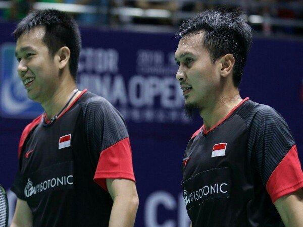 China Open 2019: Tundukkan Li/Liu, Ahsan/Hendra Ciptakan All Indonesian Finals