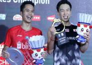 China Open 2019: Anthony Gagal Juara Meski Sudah Paksa Momota Main Tiga Game
