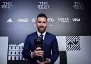 Messi Kalahkan Ronaldo dan Van Dijk Dalam Penghargaan Pemain Terbaik FIFA