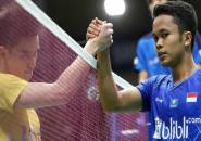 Anthony Melenggang Ke Babak Dua Korea Open 2019