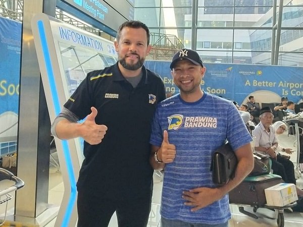 Bikin Gebrakan, Prawira Bandung Rekrut Giedrius Zibenas Sebagai Pelatih Baru