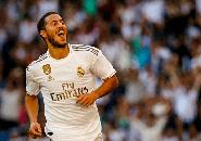 Gol Perdana Beri Kepercayaan Diri, Namun Hazard Lebih Pentingkan Kemenangan Real Madrid