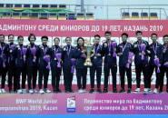 Kejuaraan Dunia Junior 2019: Susy Susanti Apresiasi Perjuangan Para Pemain Junior