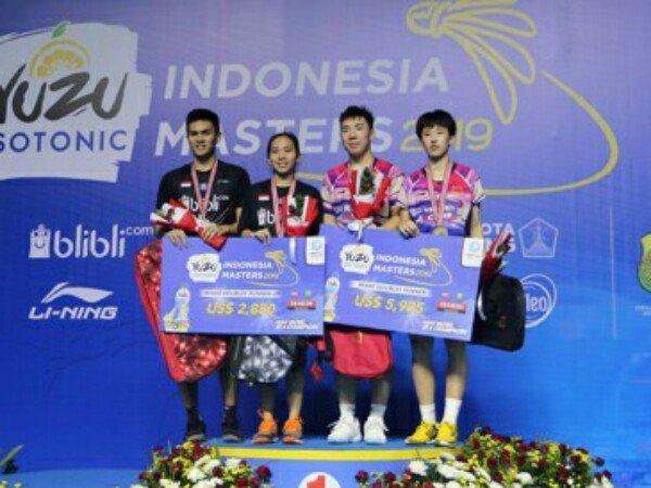 Indonesia Masters 2019: Adnan/Mychelle Gagal Jadi Juara