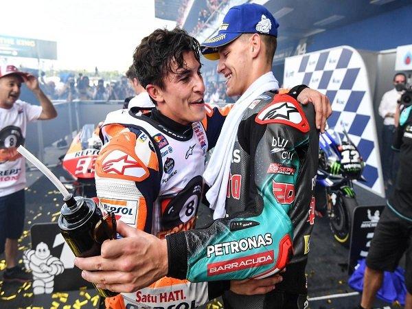Quartararo Terkesan Dengan Performa Marquez di GP Thailand
