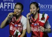 Yuzu Indonesia Masters 2019: Tundukkan Rizki/Della, Fadia/Ribka Juara