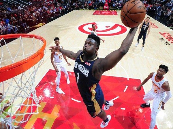 Zion Williamson Debut, Pelicans Bekuk Perlawanan Hawks