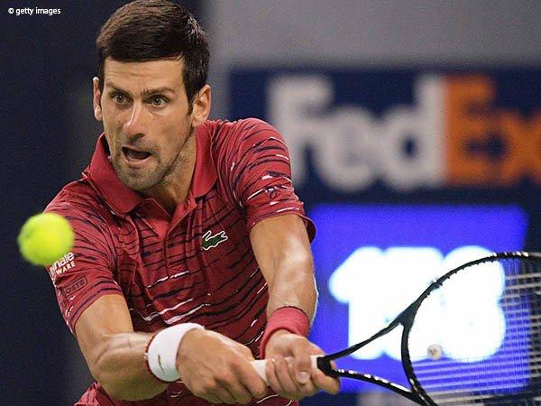 Hadang Denis Shapovalov Di Shanghai, Novak Djokovic Pertahankan Rekor Tak Terkalahkan