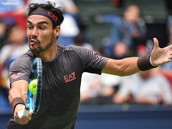 Hadapi Fabio Fognini, Perjalanan Andy Murray Di Shanghai Hanya Seumur Jagung