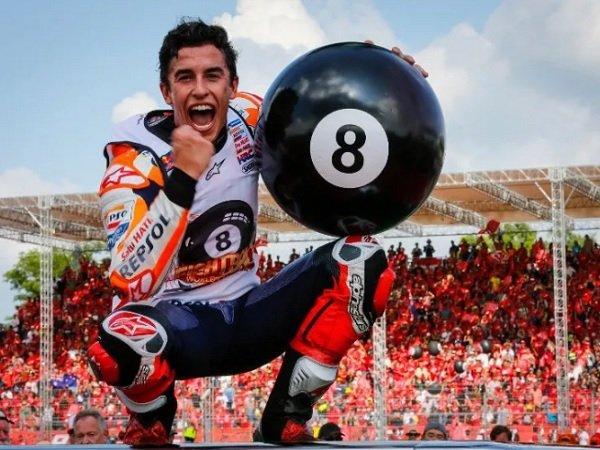 Usai Juara MotoGP 2019, Marquez Incar Triple Crown