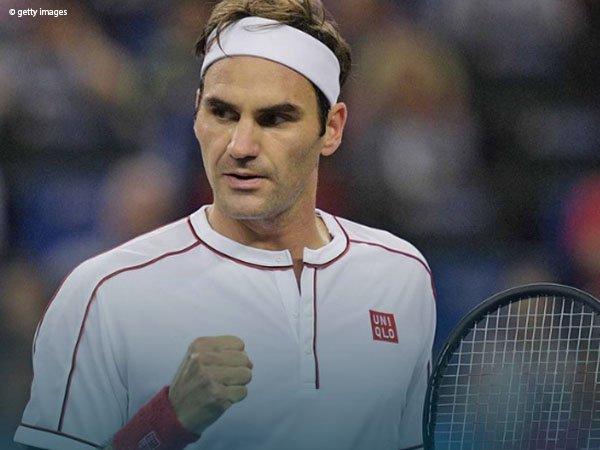 David Goffin Meradang, Roger Federer Bukukan Satu Tiket Perempatfinal Di Shanghai