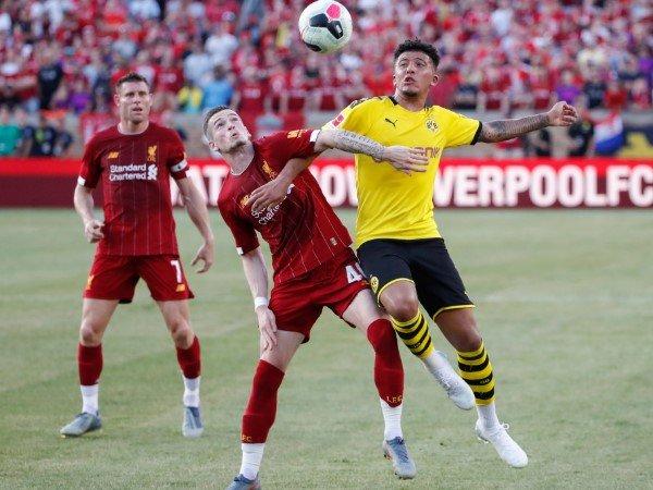 Jika Dapat Sponsor Baru, Liverpool Siap Datangkan Jadon Sancho